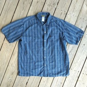 The North Face XL short sleeve button front shirt